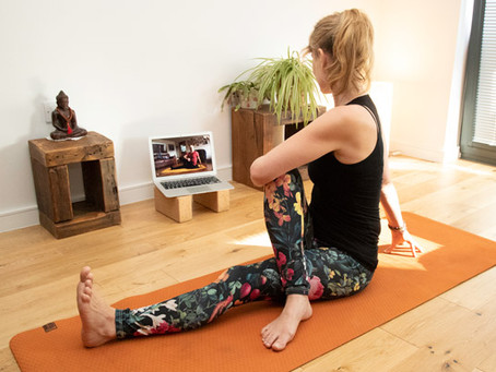 How to take Yoga Classes Online