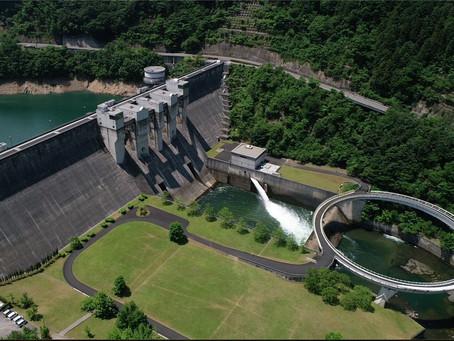 京都府南丹市 日吉ダムの撮影に行ってきました
