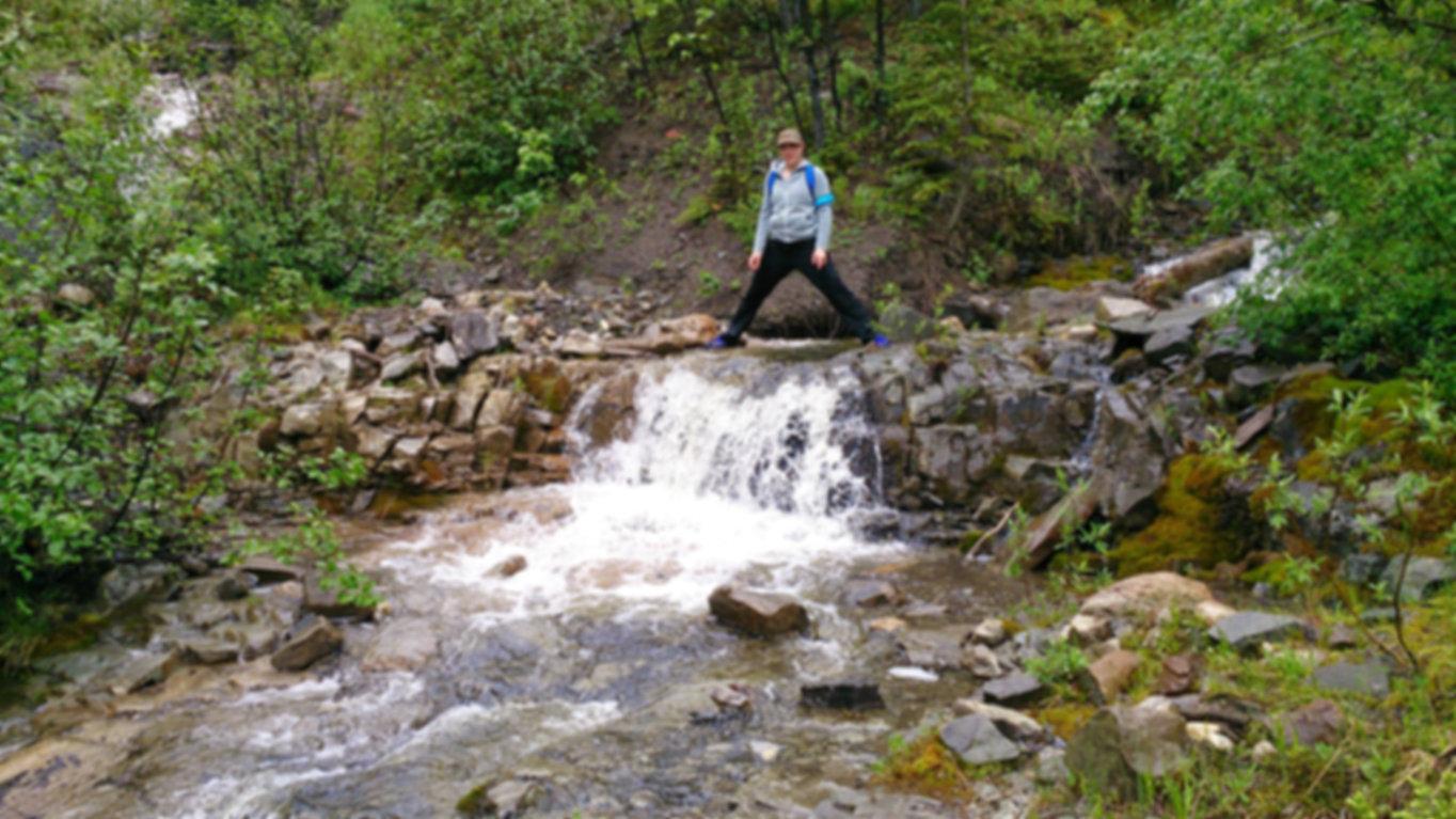 Nature, Mountains, crossroads, water, water fall