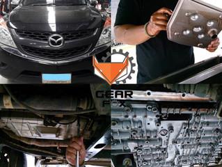 MAZDA BT50 PRO เปลี่ยนน้ำมันเกียร์และกรองเกียร์ตามระยะทาง เพื่อการใช้งานที่ยาวนาน