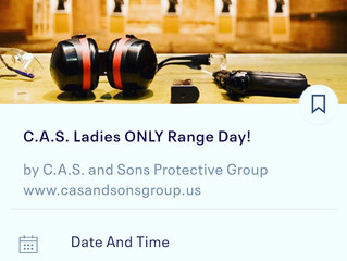 C.A.S. Ladies ONLY Range Day 12/2