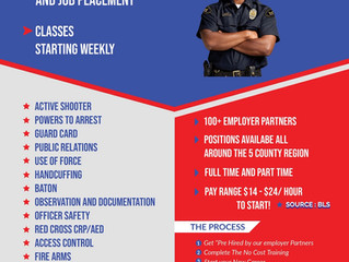 FREE Security Guard Training!!