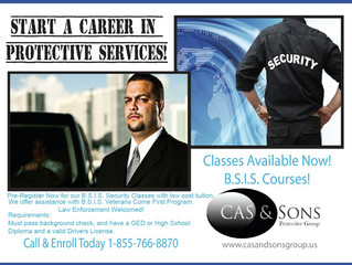 Start a Career in Protective Services