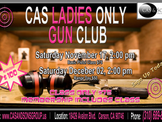 C.A.S. Ladies ONLY Gun Club!