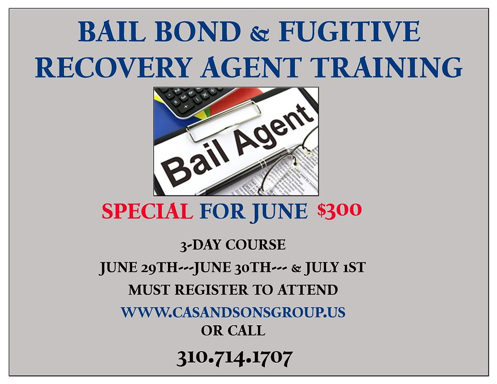 Bail Bond Training