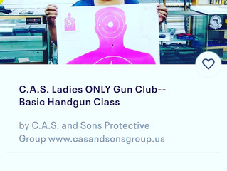 12/29 Ladies ONLY Basic Handgun Class