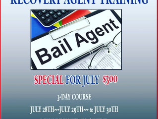 Become A Fugitive Recovery Agent!