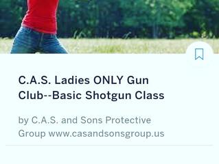 C.A.S. LADIES BASIC SHOTGUN 8/25