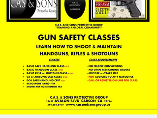 FIREARMS SAFETY CLASSES