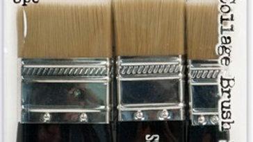 Tim Holtz Distress® Collage Brush 3pk