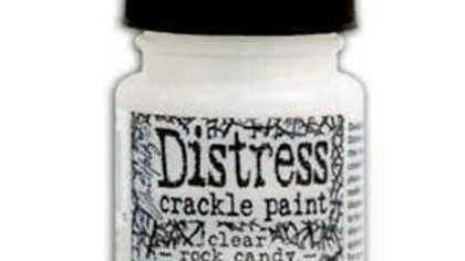 Tim Holtz Distress Crack Paint - Clear Rock Candy - 1oz.