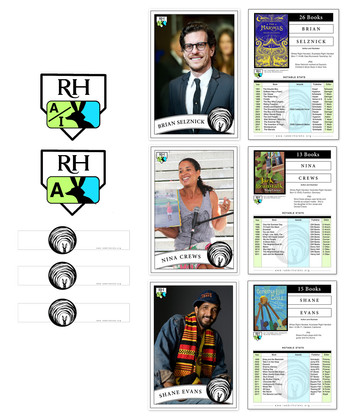Author/Illustrator Baseball Cards