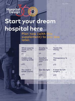 HospitalDesign360 magazine cover