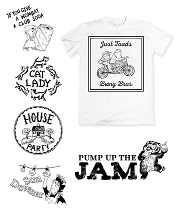 Gift Shop T-Shirt Designs