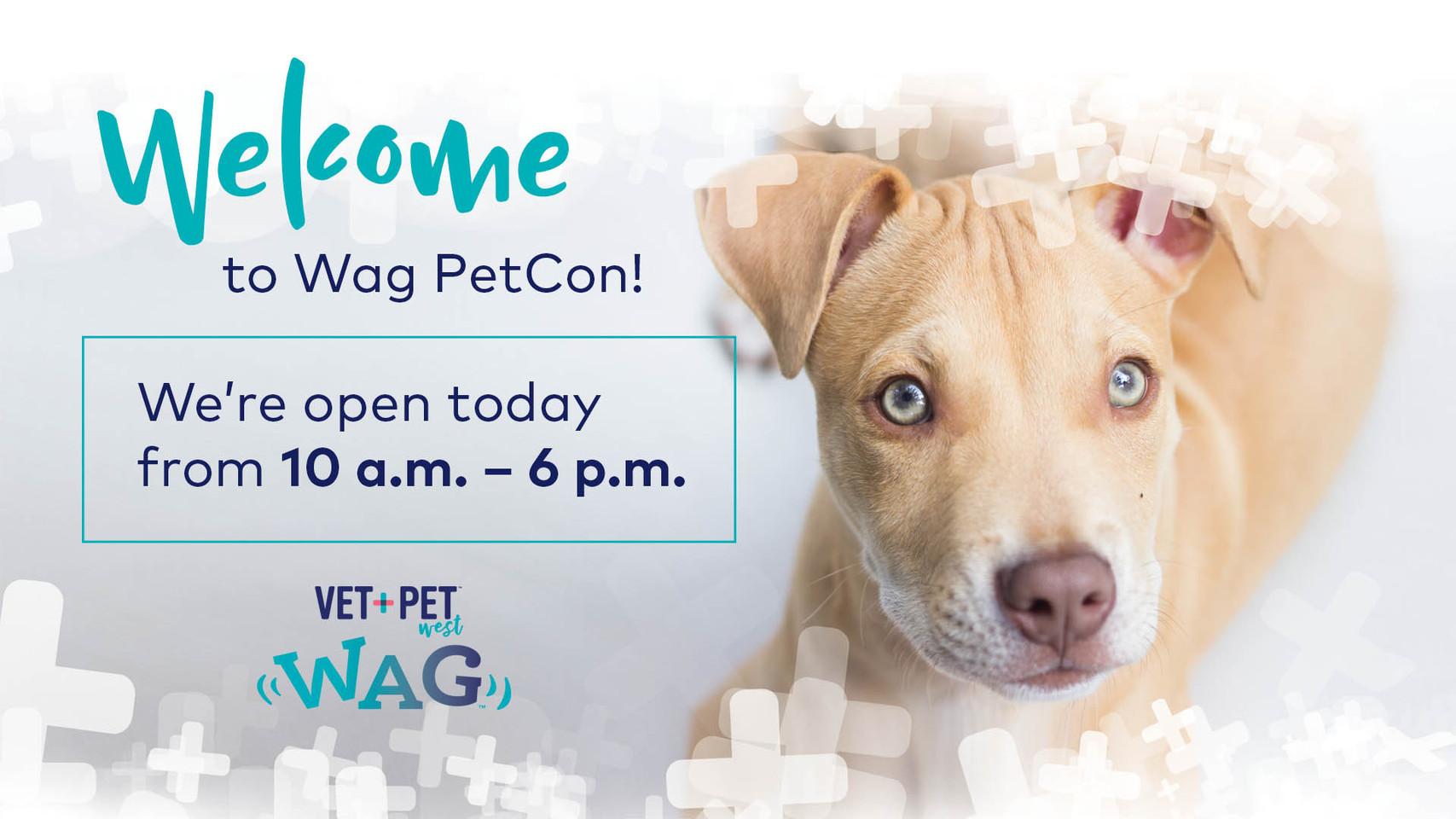 Wag PetCon Digital Signage