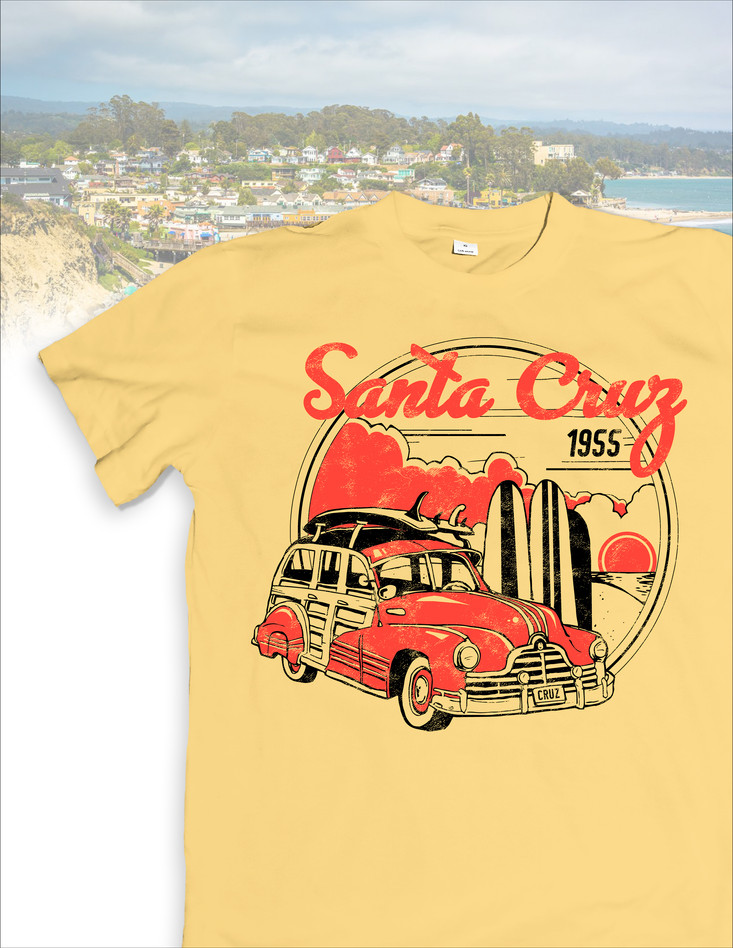 Santa Cruz T-Shirt Design