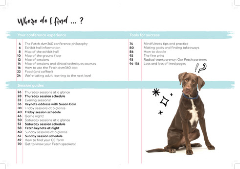 Fetch Attendee Notebook-TOC