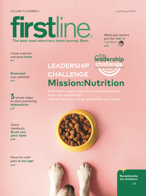 Firstline July cover