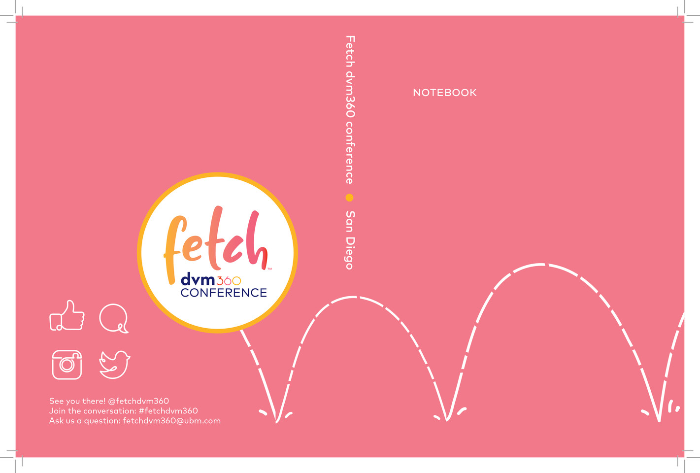 Fetch Attendee Notebook-Cover