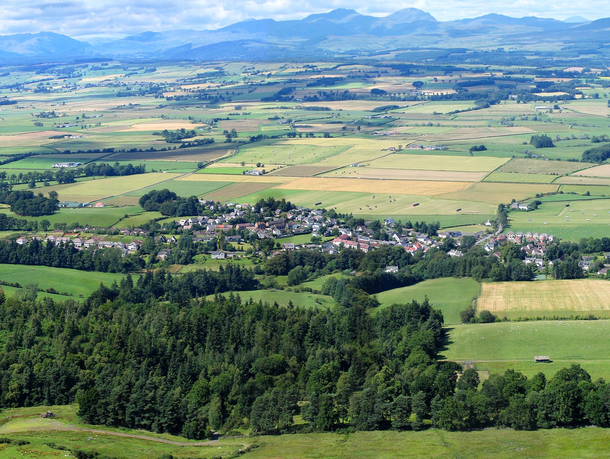 Village from Pinnacle