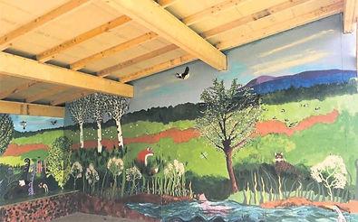 Outdoor Learning Zone at Gargunnock Primary School