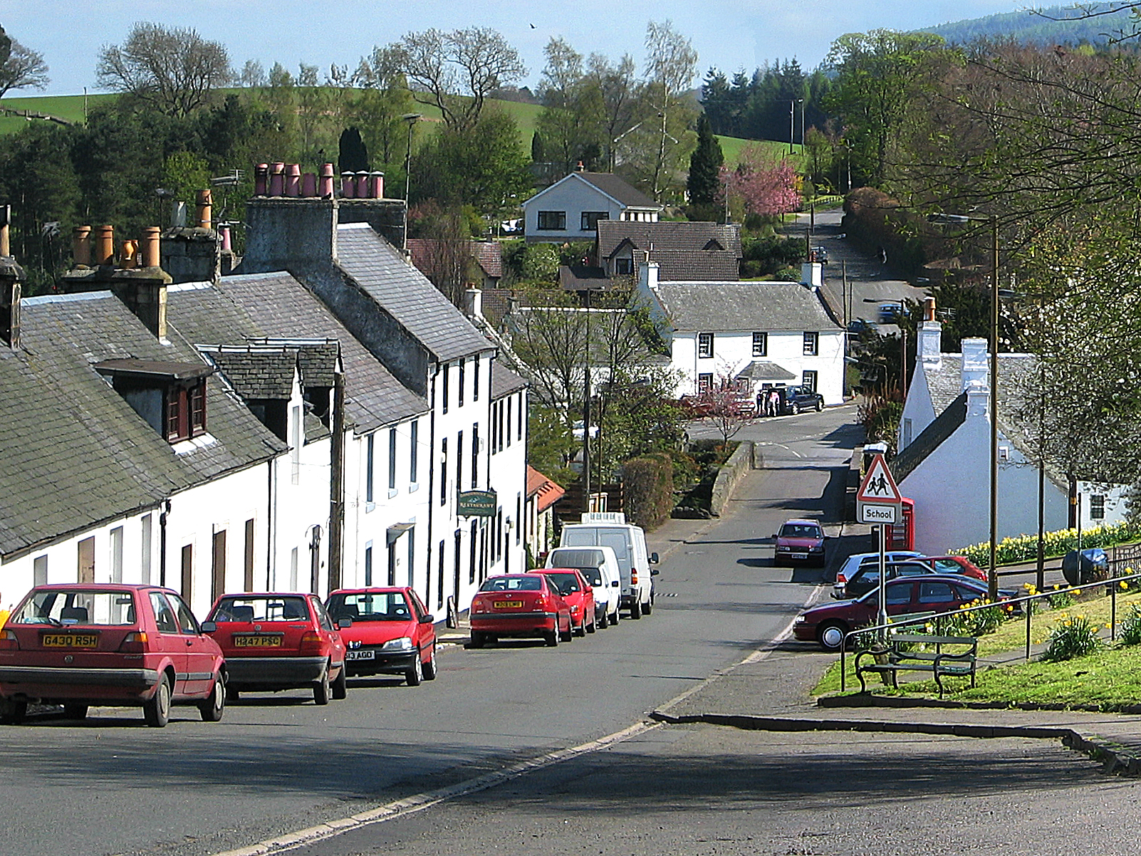 Main Street from Braehead
