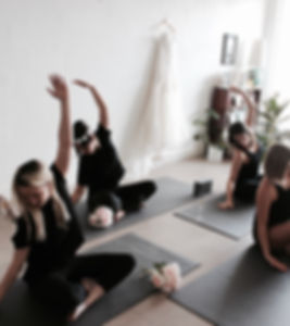Wedding yoga