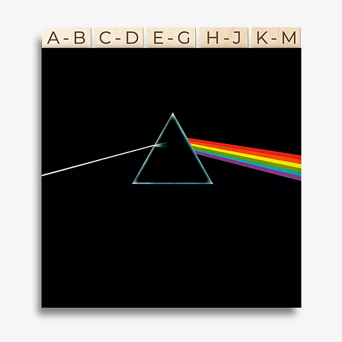 Vinyl Record Dividers A-Z ~ set of 10