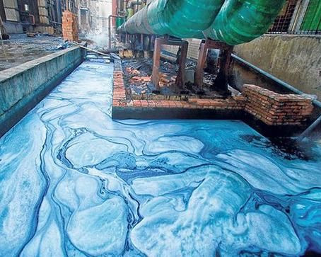 'Greenwashing' and Why Chinese RIVERS are Multi-Coloured...