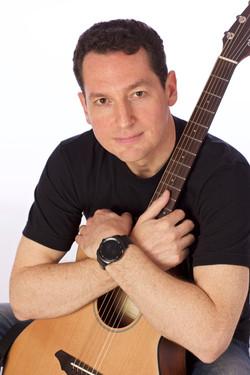 Adam Ruchman Acoustic Guitar-Closeup
