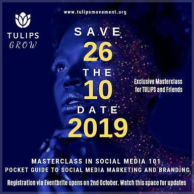 Masterclass in Social Media 101