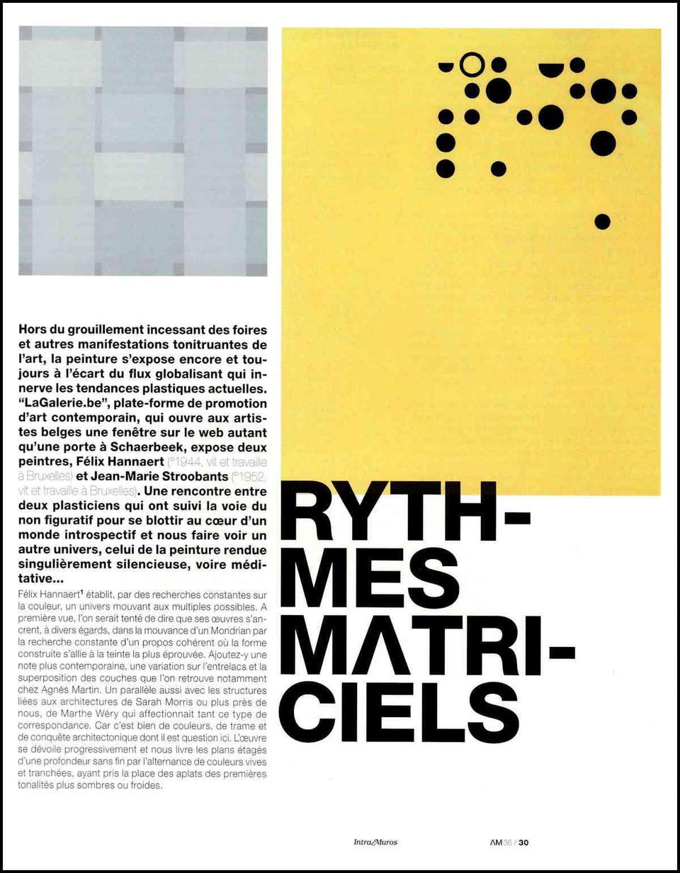 L'Art même - 2007 - 1/2