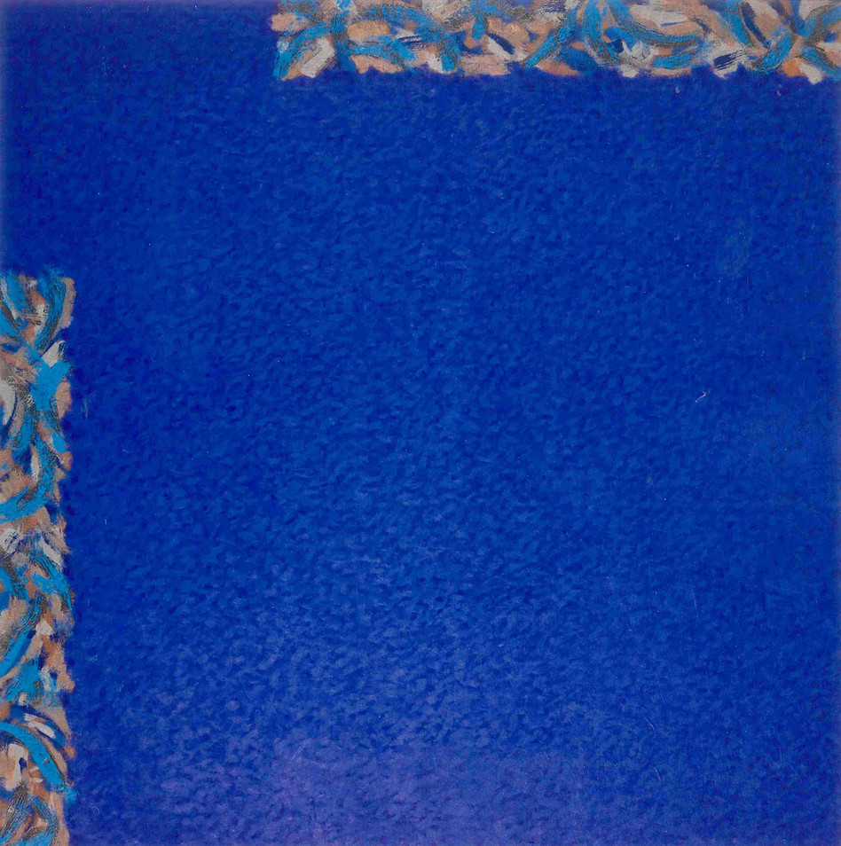Huile sur toile - 108 x 108cm - 1995