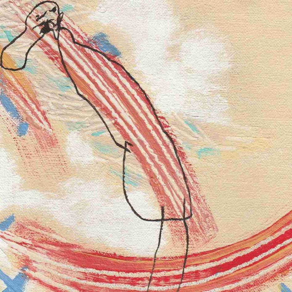 Pastel sur papier - 14 x 14cm - 1991