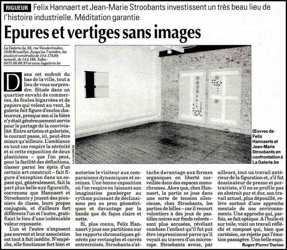 La Libre culture - 19 septembre 2007