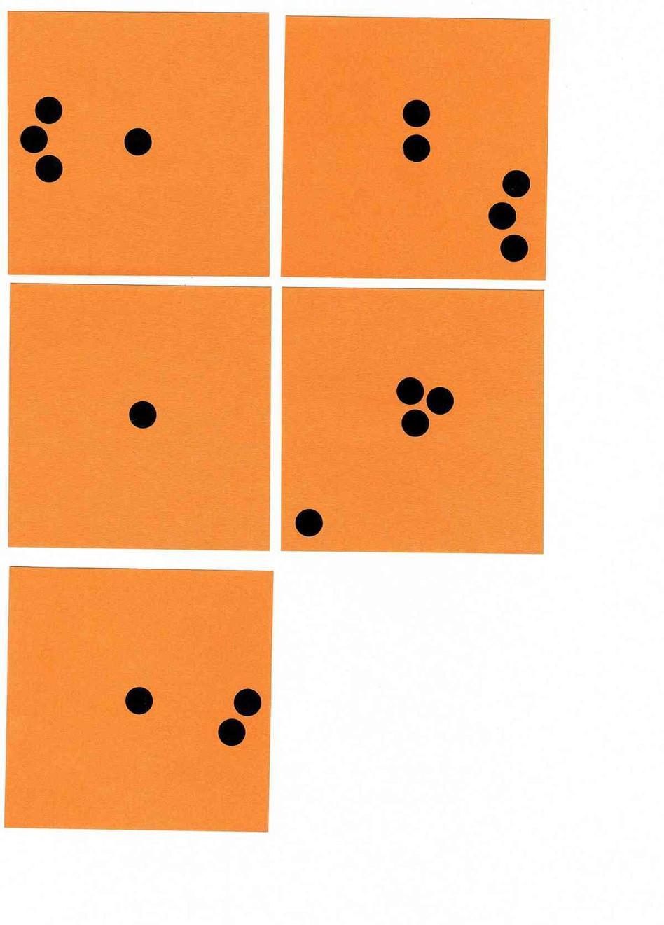 Post-it et pastilles noires - 21 x 29,7cm - 2006