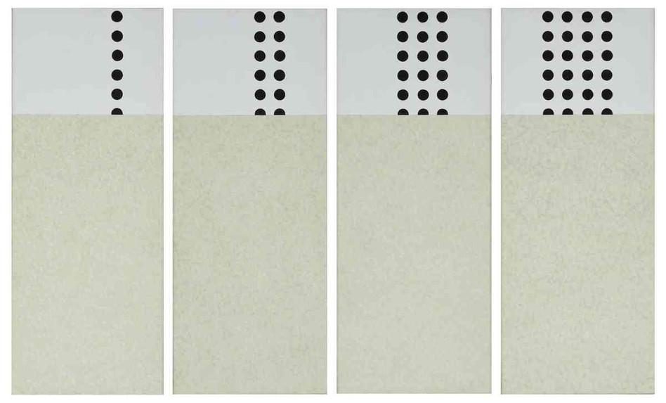 Série de 4 - Huile sur toile - 50 x 20 cm - 2006