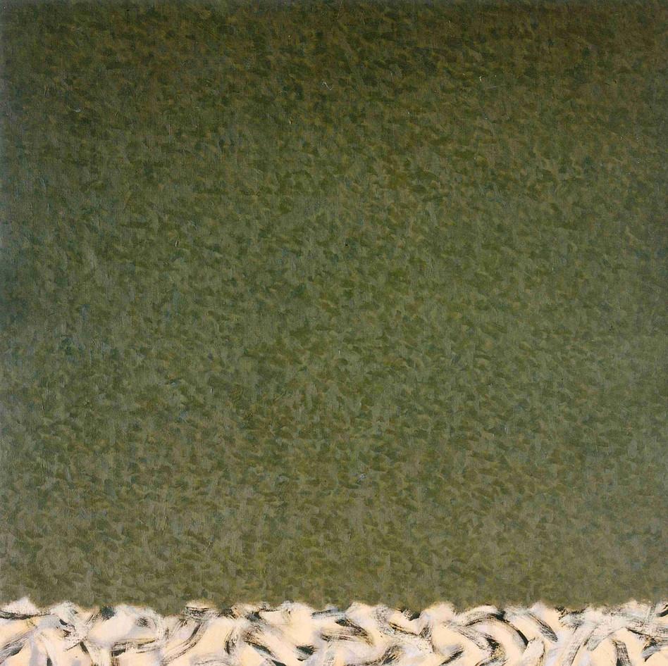 Huile sur toile - 81 x 81cm - 1995