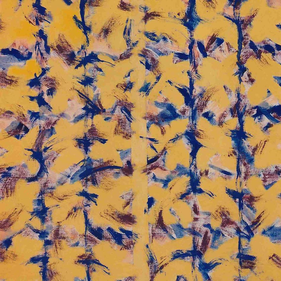 Huile sur toile - 30 x 30cm - 1994
