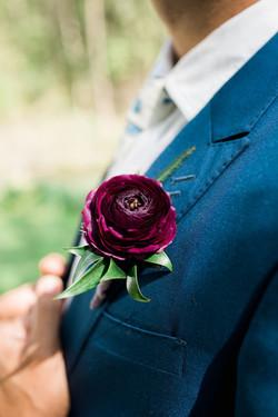 Aspen Florist Ranunculus Boutonniere