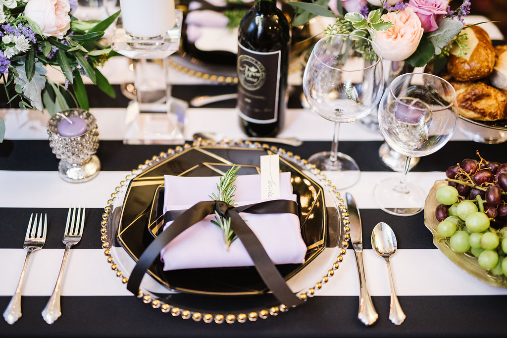 Aspen Florist Table Setting