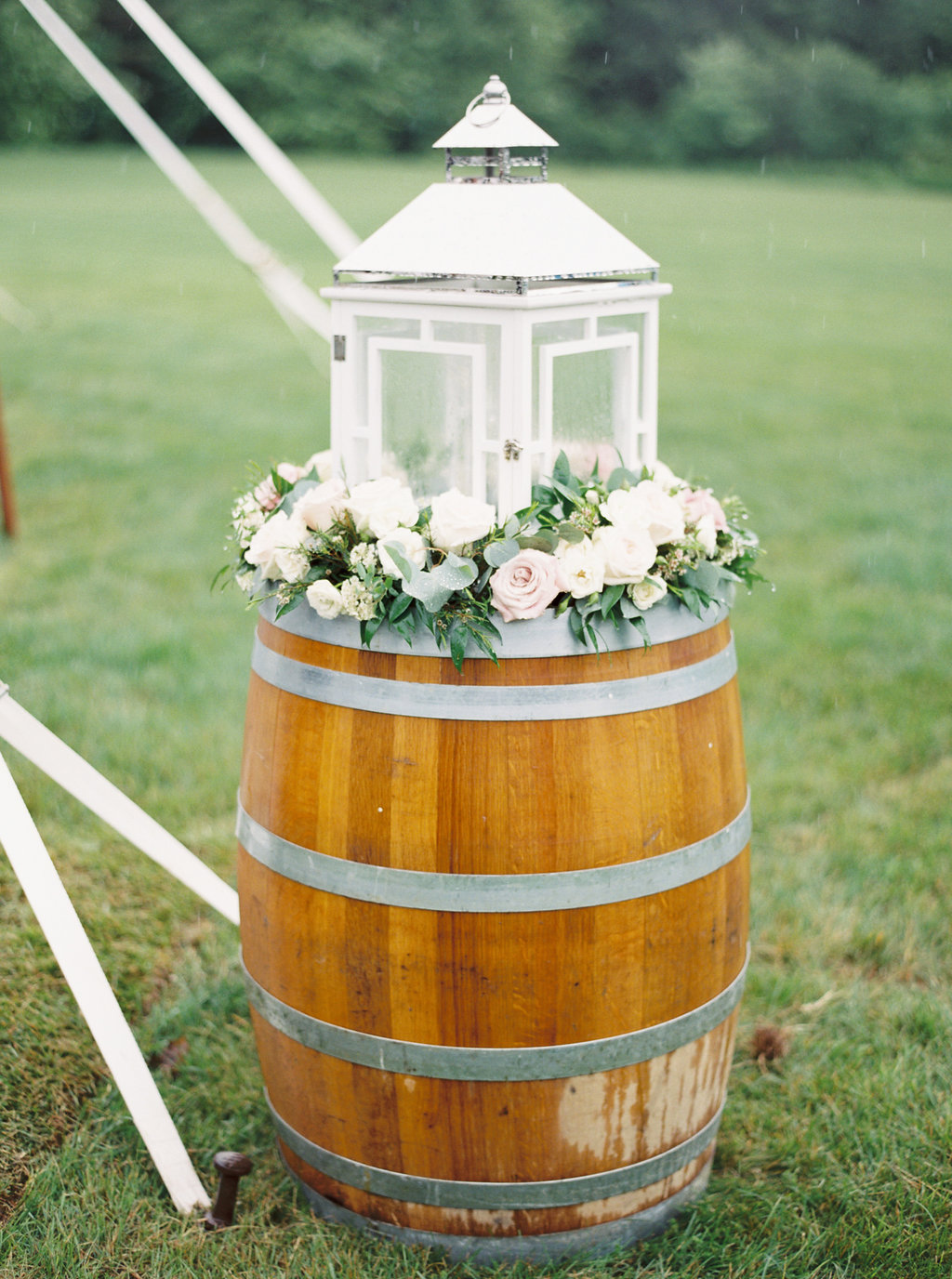 Wine Barrel Flowers