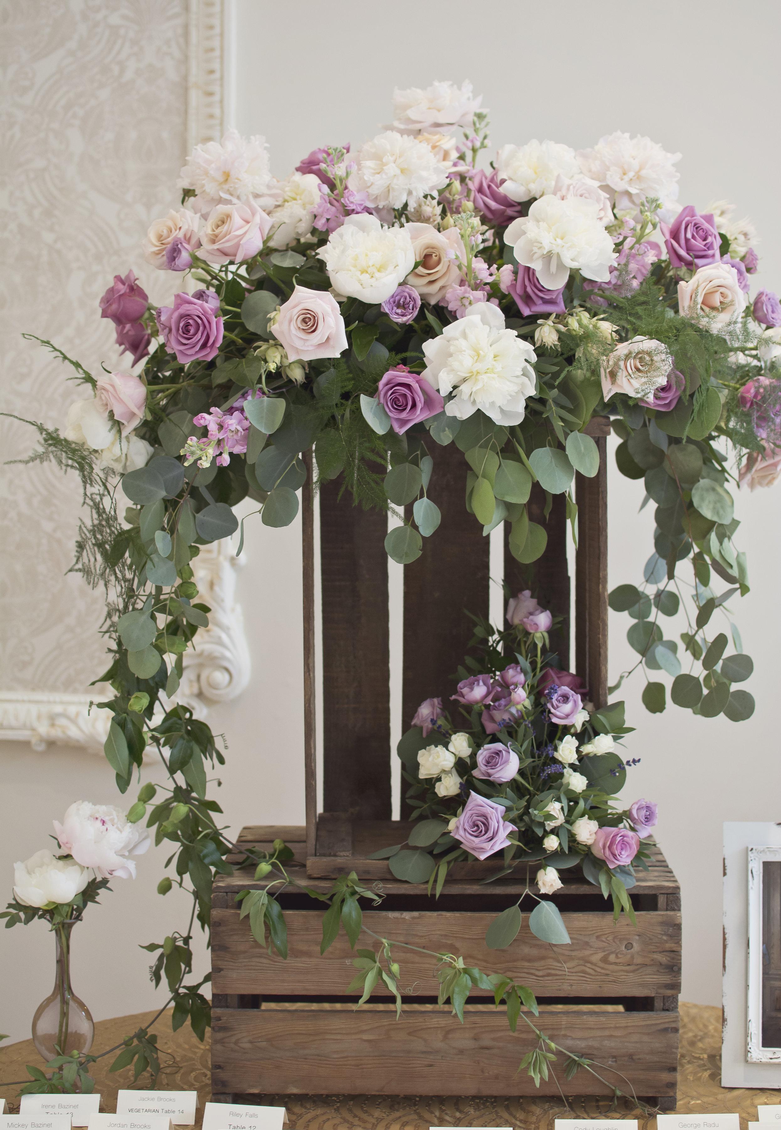 Aspen Florist Guest Book Florals