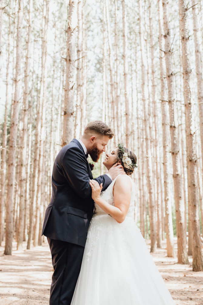 A Woodland Fairytale Wedding with Alpacas