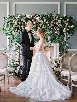 Aspen Florist Romantic French Garden Ceremony