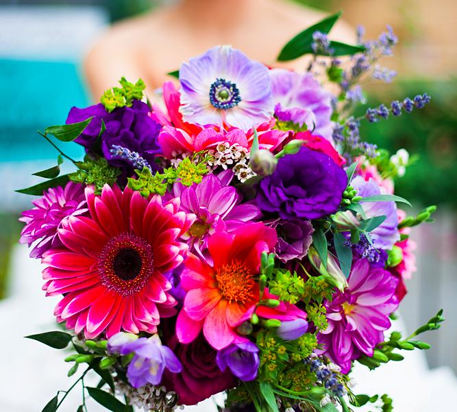 Aspen Florist Bridal Bouquet