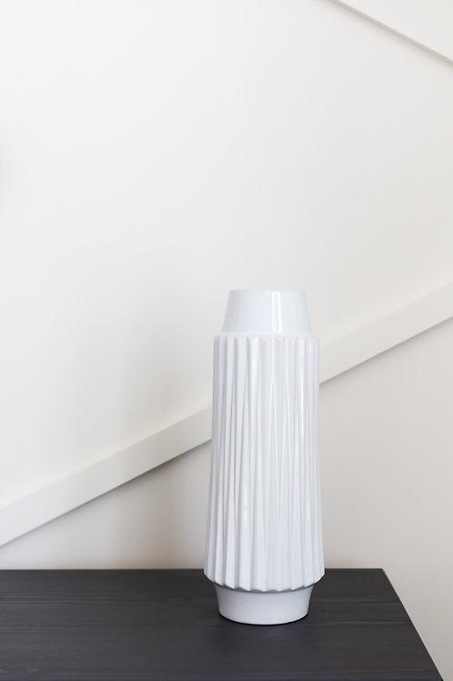 Ella Vase - White Tall