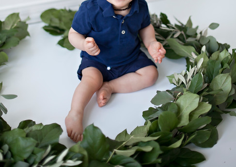 Baby Boy Greenery Shoot