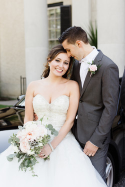 Aspen Florist Bride and Groom