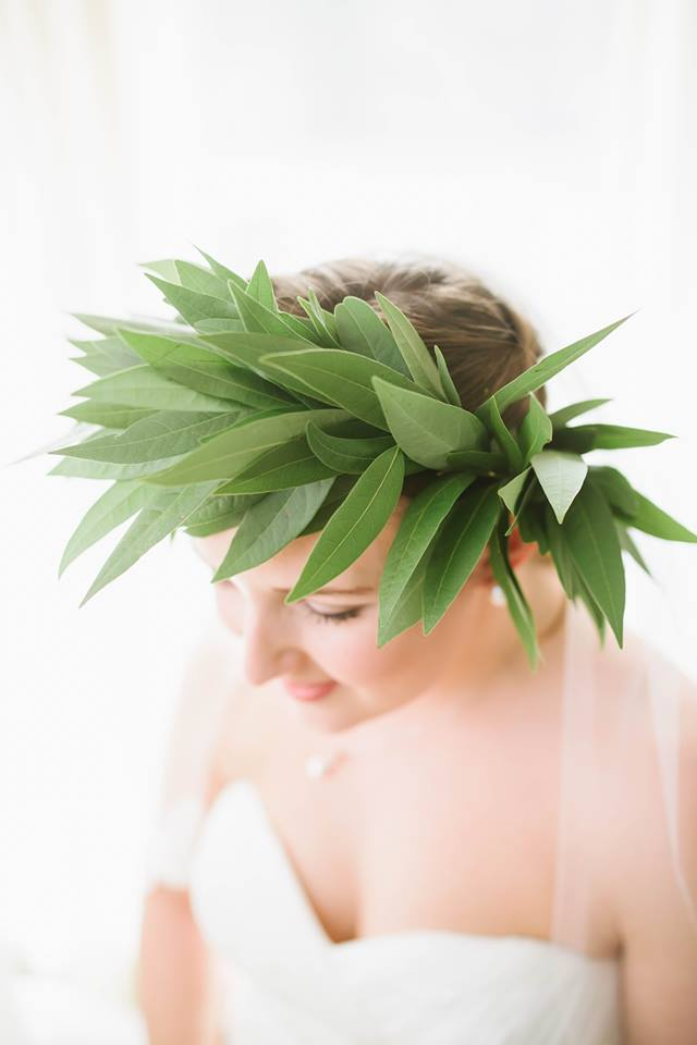Aspen Florist Bay Leaf Floral Crown
